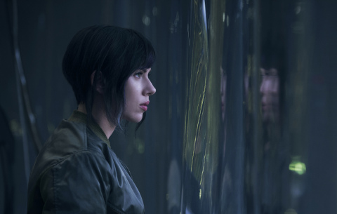 Scarlett Johansson plays the Major in Ghost in the Shell from Paramount Pictures and DreamWorks Pictures in Theaters March 31, 2017. (Photo: Business Wire)