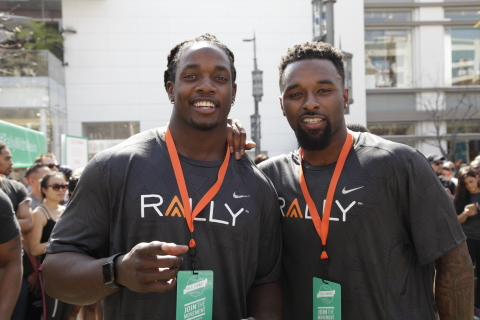 Rally Health Inc. has named Melvin Gordon, San Diego Chargers running back, and Jarvis Landry, Miami Dolphins wide receiver, as the company's newest Health Ambassadors. (Photo: Business Wire)
