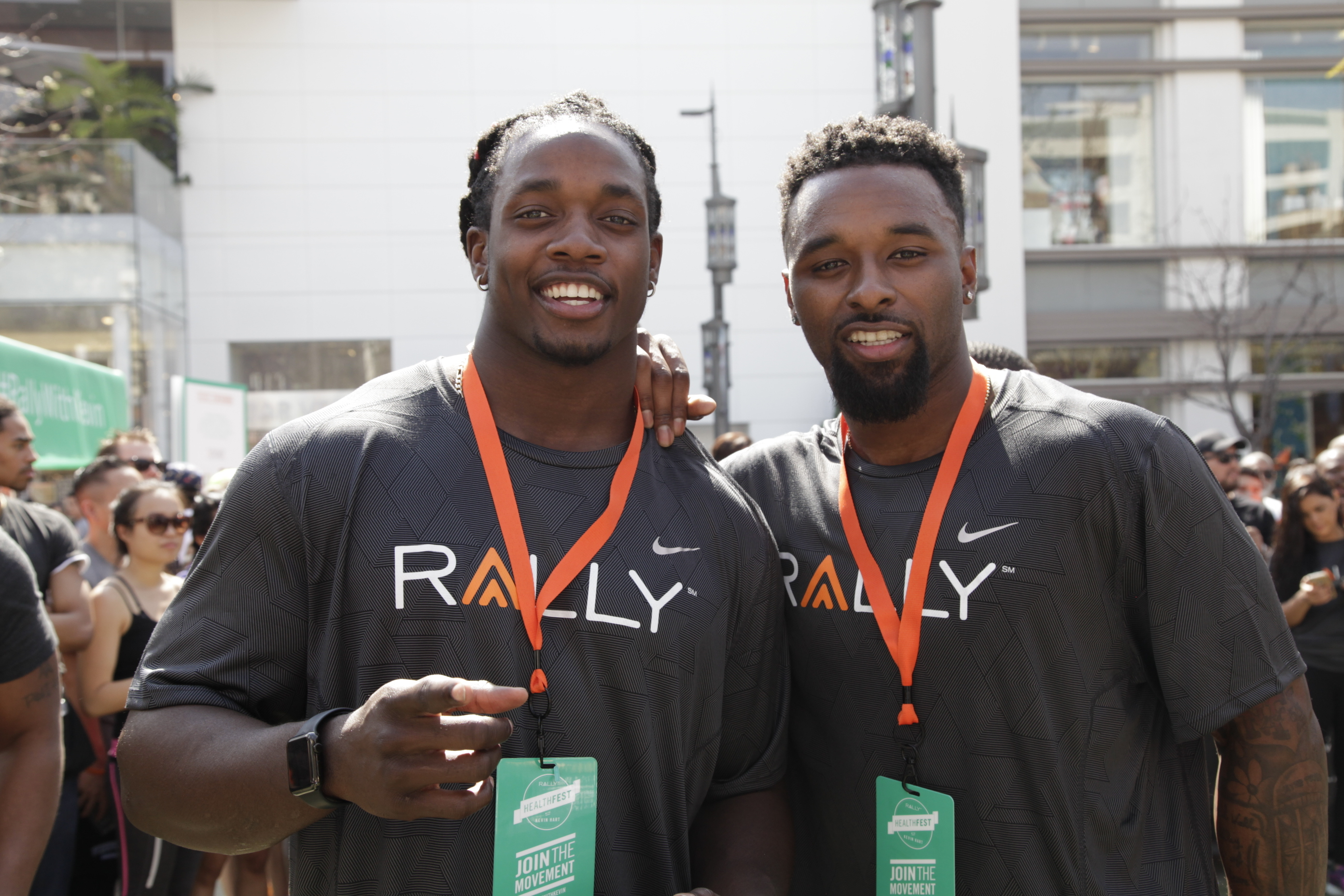 NFL Players Melvin Gordon and Jarvis Landry Named Rally