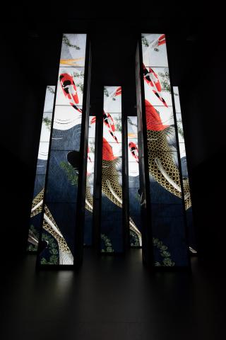"""松下装置艺术""""KUKAN"""" – 空间创造 – 亮相Milano Salone 2016(照片:美国商业资讯)"""