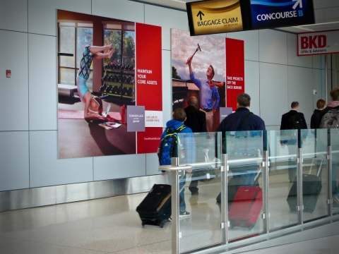 Nielsen study, commissioned by Clear Channel Airports, reaffirms brand engagement opportunities with leisure travelers. (Photo: Business Wire)