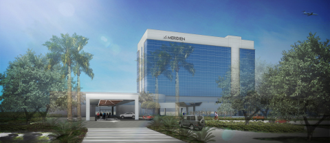 Exterior rendering of Le Méridien Fort Lauderdale Airport (Photo: Business Wire)