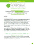 Green Dot's Letter to Shareholders