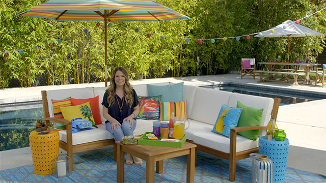HGTV Celebrity Designer Sabrina Soto Shares Her Six Essentials from Cost  Plus World Market for Creating. Cost Plus World Market Invites You to Celebrate the Outdoors
