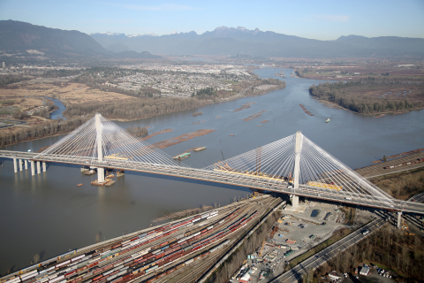 Port Mann Bridge in Vancouver, British Columbia. (Photo: Business Wire)