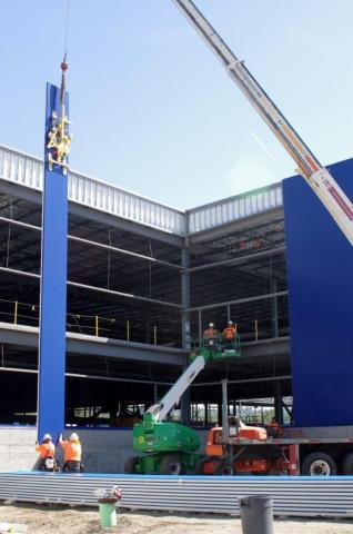 Iconic blue exterior emerges on new renton ikea store as for Ikea renton washington