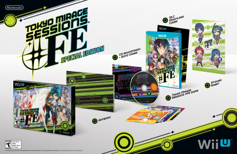 By visiting the Nintendo booth, you'll be able to play a demo for the Tokyo Mirage Sessions #FE game ...