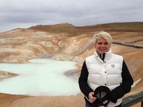 Ragnheidur Elín Árnadóttir, Iceland's Minister of Industry and Commerce (Photo: Business Wire)