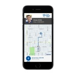TWC TechTracker enhanced with Glympse location sharing technology. (Photo: Business Wire)