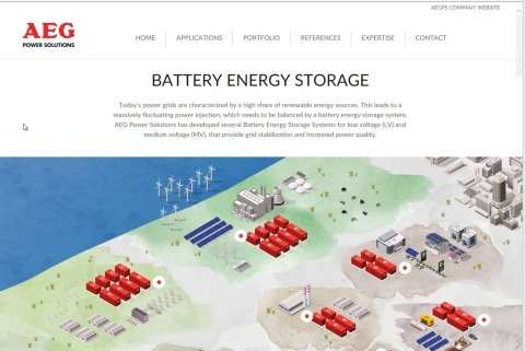 AEG PS new website dedicated to battery energy storage solutions: www.battery-energy-storage.com (Gr ...