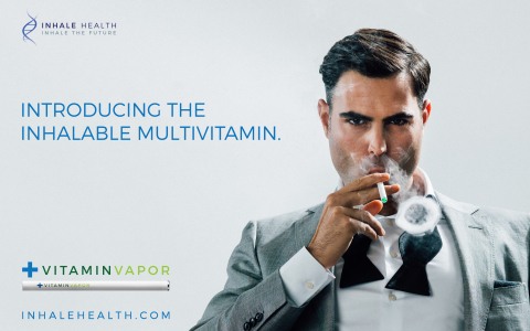 Inhale Health Introduces VitaminVapor™ to the Health Care Retail Market (Photo: Business Wire)