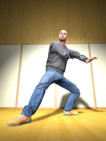 3D歌舞伎化身(图示:美国商业资讯)