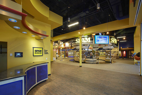 Inside the new SPAM® Museum (Photo: Hormel Foods Corporation)