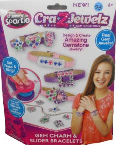 Cra-Z-Jewelz Gem Charm & Slider Bracelets (Photo: Business Wire)