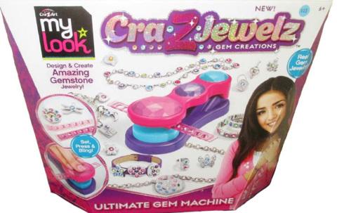 Cra-Z-Jewelz Ultimate Gem Machine (Photo: Business Wire)