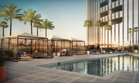Pacific Gate by Bosa, located in Downtown San Diego, sold $90 million in residences during its first weekend of private sales. (Photo: Business Wire)