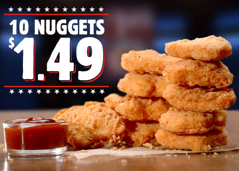 BURGER KING® Restaurants Go All in on Chicken with New Chicken Fries Rings and Return of $1.49 Nuggets Deal (Photo: Business Wire)