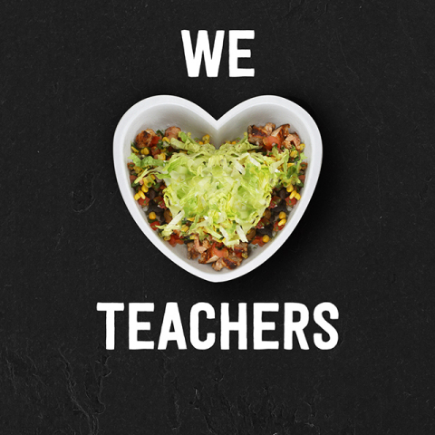 Teachers, faculty and school staff can receive BOGO Chipotle in honor of Teacher Appreciation Day on ...