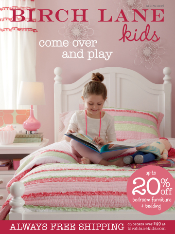 Birch Lane introduces Birch Lane Kids, a new children's collection offering an updated take on traditional styles in bedroom furniture, bedding, rugs, lighting, decorative accessories and more. (Photo: Business Wire)