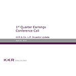 KKR Q1'16 Supplemental Operating and Financial Data