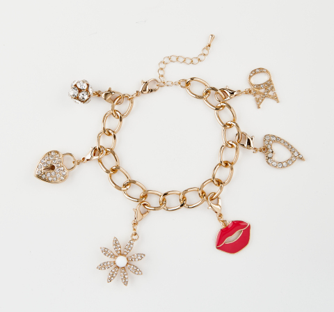 Shop charms, bracelets, necklaces and T-shirts from the Thalia Sodi Collection at Macy's and on macys.com – 10 percent of the purchase price will be donated to March of Dimes (April 24 – May 31) (Photo: Business Wire)
