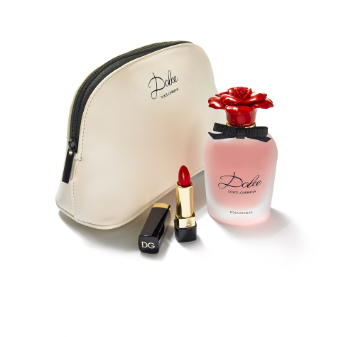 Treat Mom with the very best gifts available at select Macy's stores and on macys.com; Dolce & Gabbana Set, $117 (Photo: Business Wire)