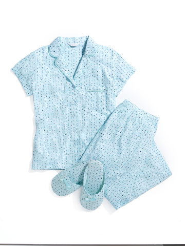 Treat Mom with the very best gifts available at select Macy's stores and on macys.com; Charter Club Pajamas Set with Slippers, $59.50 (Photo: Business Wire)
