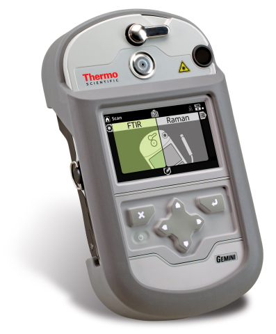 Thermo Scientific Gemini handheld chemical analyzer (Photo: Business Wire)
