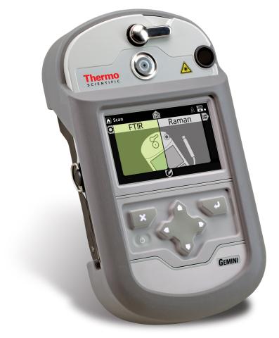 Thermo Scientific Gemini handheld chemical analyzer (Photo: Business Wire)
