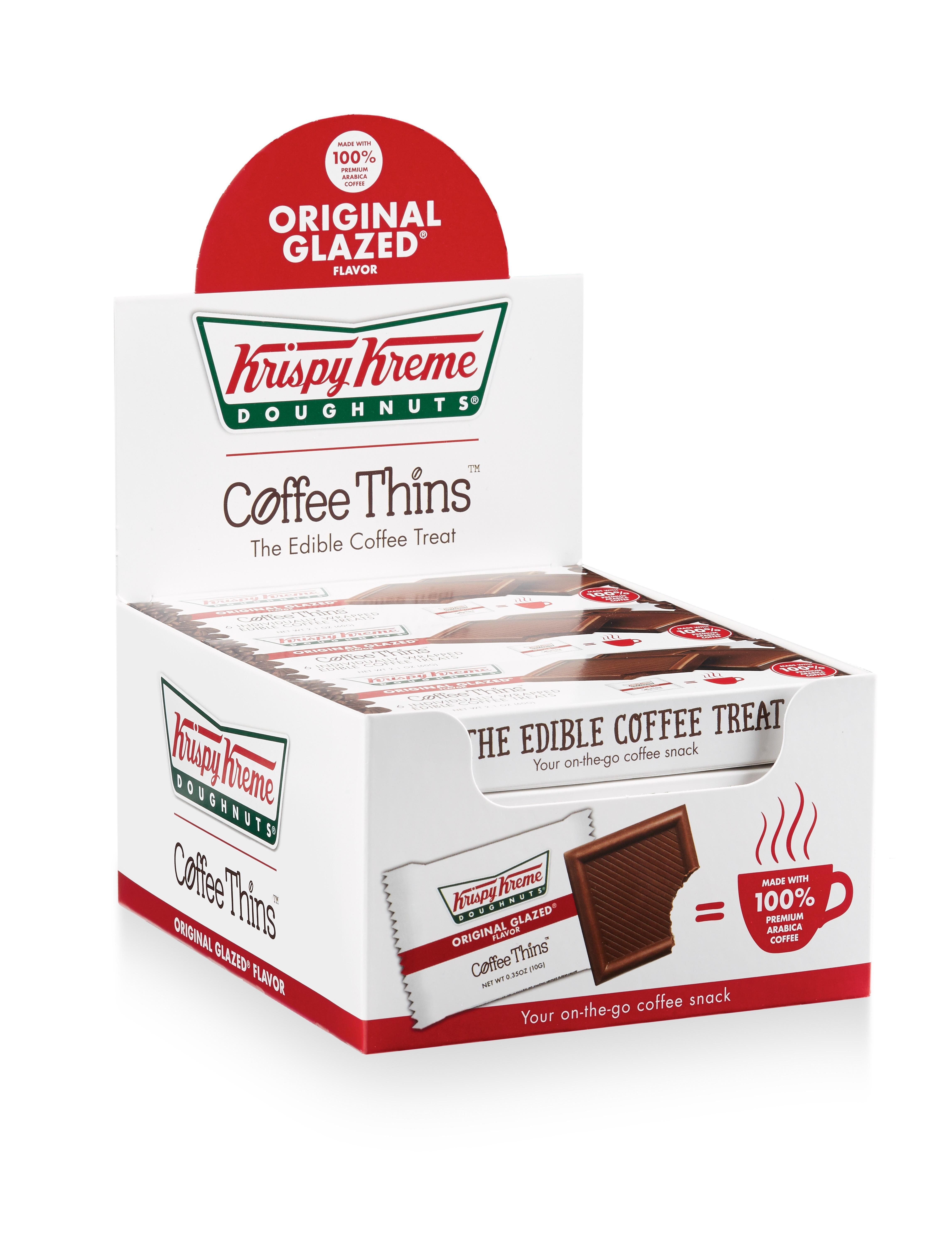 Get Your Coffee Fix: Krispy Kreme Doughnuts Announces Line of Edible ...