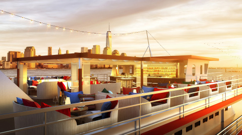 Rendering of Fish Bar's Rooftop (Photo: Business Wire)