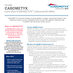 CABOMETYX™ Fact Sheet