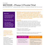METEOR Trial Design Fact Sheet