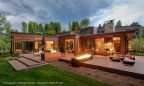 Robert Singer and Associates, Inc. was named winner of the residential category for the lighting design of the Waterstone residence in Woody Creek, Colorado. (Photo: Business Wire)