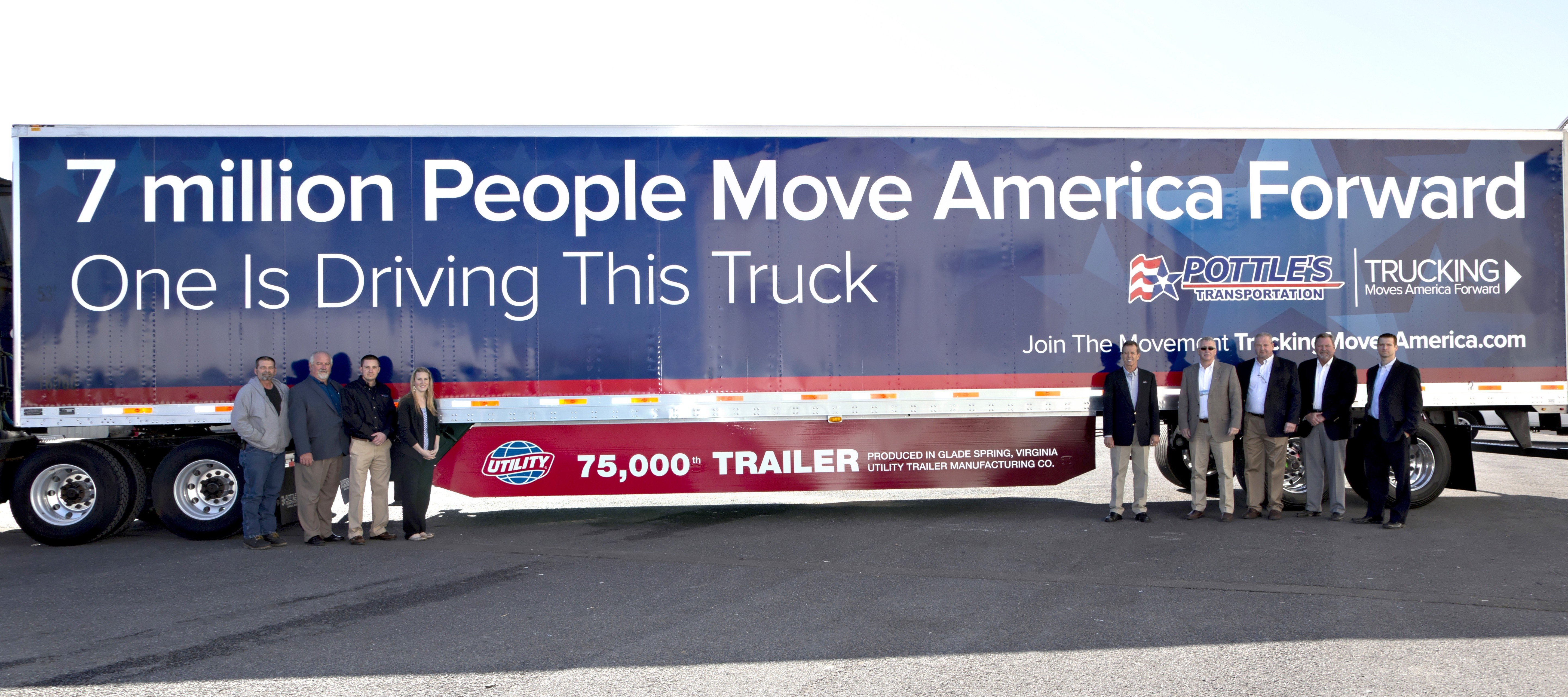 Utility Trailer Manufacturing Celebrates 75000th Dry Van Milestone How To Wire Business