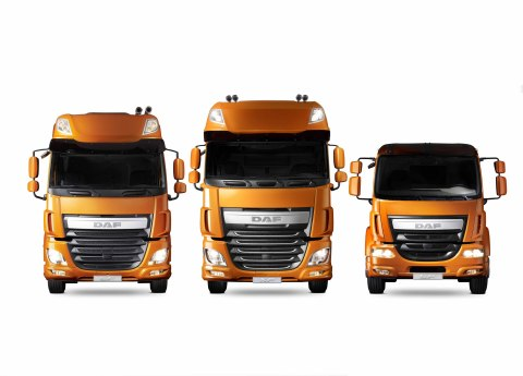 DAF CF, XF and LF Trucks (Photo: Business Wire)