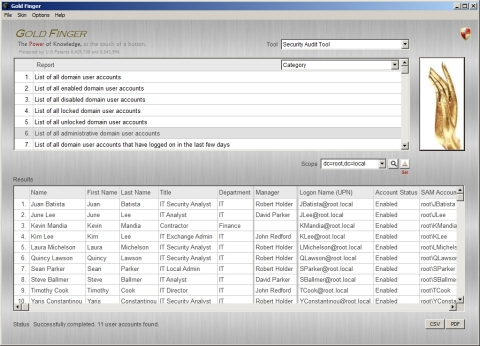 Free Active Directory Audit Tool (Photo: Paramount Defenses via Business Wire)
