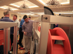 Nortek Air Solutions sales reps view the latest in product innovations at their recent national sales conference. (Photo: Nortek Air Solutions)