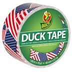 Available in more than 250 colors and designs, America's favorite fix-all is ready to help you stick together with your fellow patriots and show your spirit through all things Duck Tape® this Father's Day weekend at the annual Avon Heritage Duck Tape® Festival. (Photo: Business Wire)