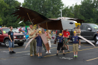 Witness the fun of this year's Duck Tape Festival at the annual parade, which features more than 20 unique floats made with duct tape. (Photo: Business Wire)