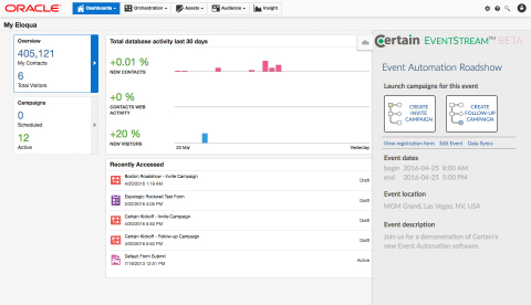 View Event (Graphic: Business Wire)
