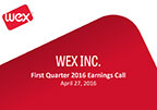 WEX Inc. Reports First Quarter 2016 Financial Results