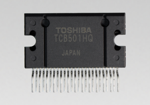 """Toshiba: current-feedback 4-channel power amplifier IC """"TCB501HQ"""" with enhanced offset detection for car audio. (Photo: Business Wire)"""