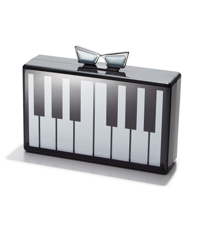 Lady Gaga and Sir Elton John partner with Macy's on new limited-edition line, Love Bravery; Piano Clutch, $59 (Photo: Business Wire)