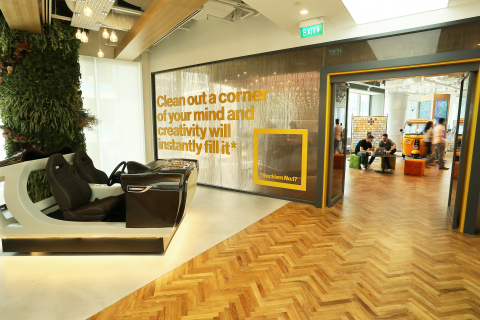 Visa Opens its First Innovation Center in Asia (Photo: Business Wire)