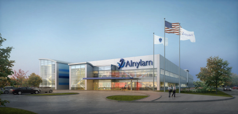 Alnylam manufacturing facility to be built in Norton, Massachusetts. (Photo: Business Wire)