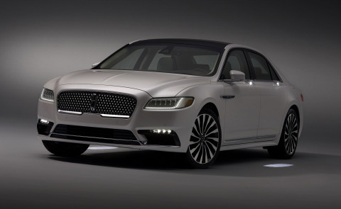 Lincoln Approach Detection lighting on all-new 2017 Lincoln Continental (Photo: Business Wire)