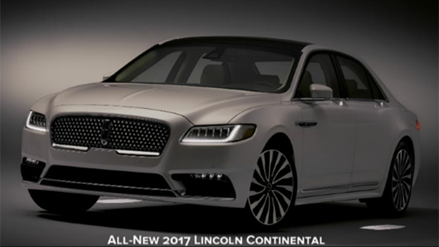 Lincoln Approach Detection lighting sequence on the all-new 2017 Lincoln Continental