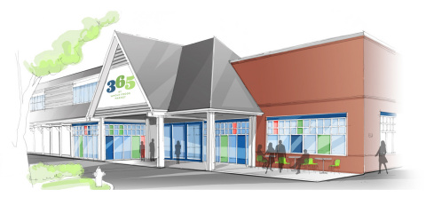 A rendering of the new 365 by Whole Foods Market location in Lake Oswego, Oregon, which is set to open July 14, 2016. (Graphic: Business Wire)
