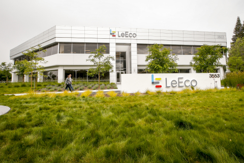LeEco's new 80,000 square foot North American headquarters in San Jose. (Photo: Business Wire)